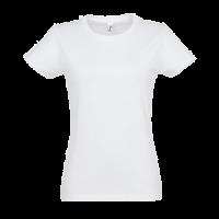 Koszulka t-shirt basic biała damska